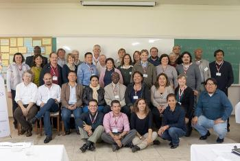 Participants at the LAC sustainability meeting. Photo: LWF LAC