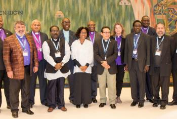 Newly-appointed leaders of LWF member churches repesenting, Africa, Asia, Latin America and the Caribbean gather for induction meetings at the ‪#‎LWF‬ Communion Office in Geneva.   Photo:  LWF