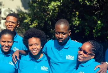 Some of the participants in the LUCSA youth workshop in Johannesburg, South Africa. Photo: LUCSA