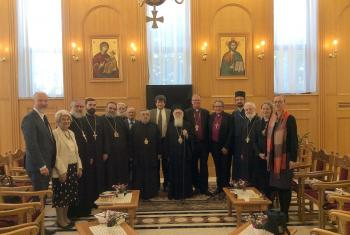 The Preparatory Committee for the 18th Plenary Session of the International Joint Commission on the Theological Dialogue between the LWF and the Orthodox Church, the meeting was held in Tirana, Albania. Photo: Archimandrite Agathangelos