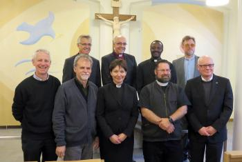 LWF and ILC representatives met at the International Lutheran Center in Wittenberg, Germany. Photo: ILC