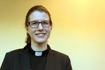 Thirty-two year old Rev Lydia Posselt from the Evangelical Lutheran Church in America (ELCA) will preach at the closing worship of the LWF Assembly on 16 May. Photo: Bob Fisher