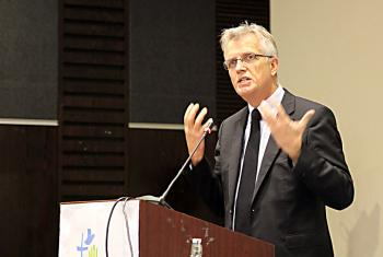 African churches have had a valuable contribution to make to the communion, Rev. Dr Martin Junge said in his address Africa Pre-Assembly. Photo: LWF/A. Weyermüller