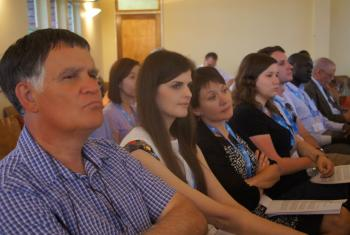 """Participants at LWF's conference, """"Global Perspectives on the Reformation"""" in Windhoek, Namibia."""