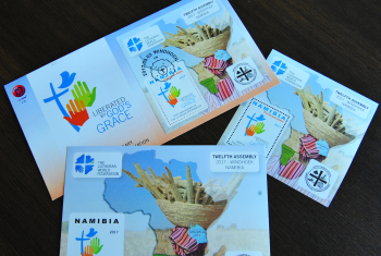 Commemorative stamps are being issued to mark the 12th Assembly and the Reformation Anniversary in Namibia.