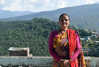 Ms Kausilya Damai, member of the local government of Nawadurga Rural Municipality in western Nepal. Photo: LWF Nepal