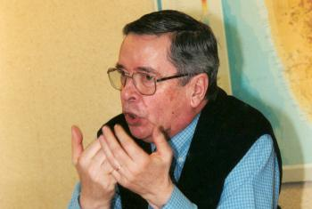 Rev. Marc Chambron, July 2000. Photo: LWF/C. Rothenbühler