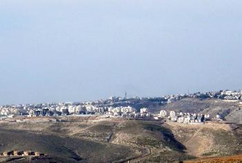 The Ma'ale Adumim settlement in the West Bank. Photo: Yiftachsam, via Wikimedia Commons.