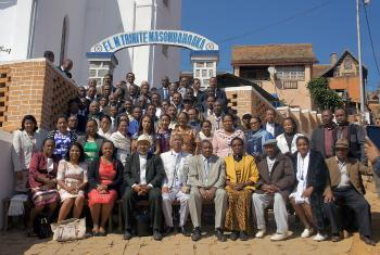 """The righteous shall live by faith"" is the theme of the 150th anniversary celebrations of the Malagasy Lutheran Church, inaugurated at the Masombahoaka Lutheran parish in Fianaratsoa. Photo: MLC"