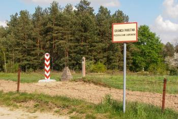Lack of access to humanitarian assistance for the asylum seekers at the Belarus-Poland border is a major concern. Photo: Grzegorz W. Tężycki via Wikimedia Commons (CC-BY-SA)