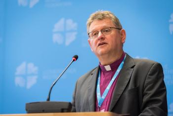 Bishop Samiec, from the Evangelical Church of the Augsburg Confession in Poland. Photo: LWF/Albin Hillert