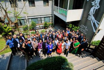 Church leaders at the LWF leaders conference last year. Photo: Johanan Celine P. Valeriano