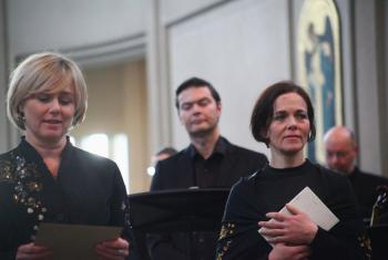 "The musical theatre production ""Elisabeth and Halldóra - Bach and Grallarinn"" tells the history of the two women of the Reformation who challenged norms and opinions on the roles of women in society and the church. Photo: LWF/Gylfi Jonsson"