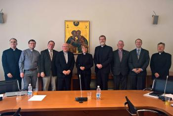 Representatives of the five churches who signed the JDDJ in Rome. Photo: LWF