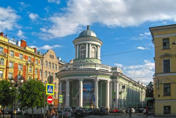 St Anna Lutheran Church in St Petersburg. Photo: Ekaterina Borisova via Wikimedia (CC-BY-SA)