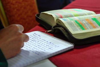 LWF encourages member churches to apply for scholarships. Photo: LWF/Johanan Celine Valeriano