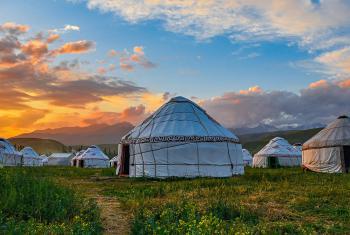 Mongolian yurts. Photo: Yang Shuo on Unsplash