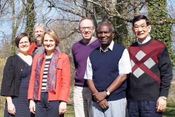 The working group on the Self-Understanding of the Lutheran Communion at its initial meeting. Photo: LWF/C.Kästner