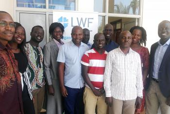 Participants after the workshop in Juba, South Sudan. Photo: LWF