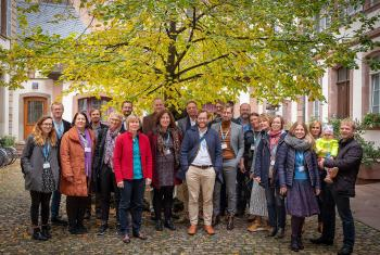 European communicators met in Strasbourg, France, this year for the second time. Photo: LWF/Arni Danielsson