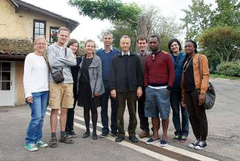 Young Reformers Steering Committee at Taizé. Photo: LWF/C. Kästner