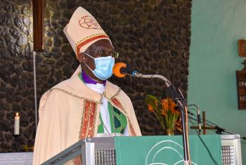 The Evangelical Lutheran Church in Tanzania (ELCT) Presiding Bishop Dr Fredrick O. Shoo wrote that education is one tool churches can use to prevent the spread of COVID-19. Photo:ELCT/Erick Adolph