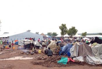 Pagirinya settlement was opened less than a month ago and is already overcrowded. Photo: LWF Uganda