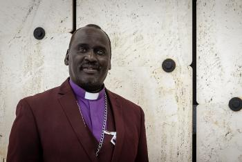 Bishop Isaiah Majok Dau, presiding bishop of the Sudan Pentecostal Church. Photo: LWF/A. Danielsson