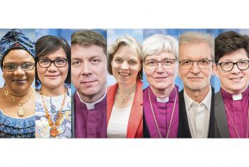 LWF Vice-Presidents. Photo: LWF