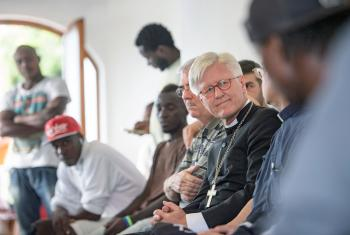 In this Voices from the Communion, Bishop Heinrich Bedford-Strohm of the Evangelical Lutheran Church in Bavaria talks about the global refugee crisis, a protestant search-and-rescue mission and the biblical roots of welcoming the stranger.