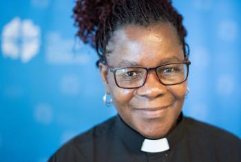"Rev. Elitha Moyo Gender Justice Coordinator for the ELCZ says, ""We need to appreciate each other regardless of gender."" Photo: LWF/Albin Hillert"