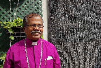 Bishop Daniel Jayaraj, Tamil Evangelical Lutheran Church. Photo: LWF/P. Lok