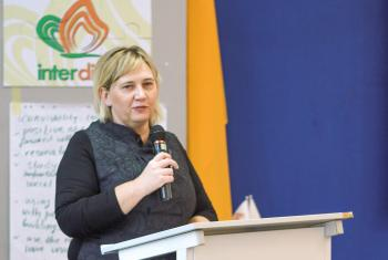 """Rooted in seeking justice"" Janka Adameová is the director and co-founder of the International Academy of Diakonia and Social Action of Central and Eastern Europe (interdiac). Photo: LWF"