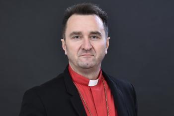 Bishop Jaroslav Javornik from the Slovak Evangelical Church of the Augsburg Confession in Serbia. Photo: SEAVC