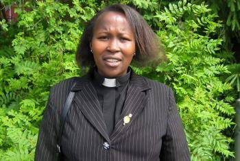 Rev. Rebecca Maduley Kurubai, Evangelical Lutheran Church in Tanzania Photo: Courtesy