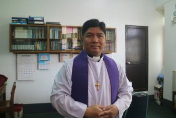 General secretary of the Federation of Lutheran Churches in Myanmar, Rev Martin Lalthangliana. Photo: FLCM