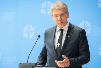 Rev. Dr Olav Fykse Tveit. Photo:LWF/Albin Hillert