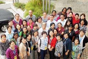 WICAS Asia 2014 meeting participants. Photo: LWF/Olivia Payung