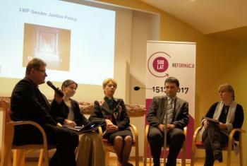 Gender Justice Implementation Workshop, Warsaw Poland. Photo: Michał Karski