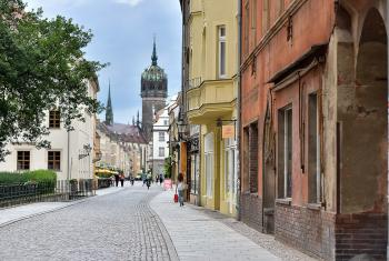 Wittenberg city street. Photo: LWF / M. Renaux
