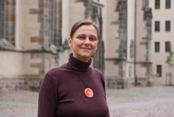Dr. Nikola Schmutzler, pastor of the Evangelical Lutheran Church of Saxony. Photo: LWF/A. Weyermüller
