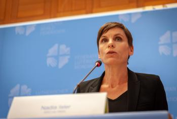 "Director of the United Nations SDG Lab, Nadia Isler: Waking the Giant is a ""unique opportunity in a highly globalized world"". Photo: LWF/Stéphane Gallay"