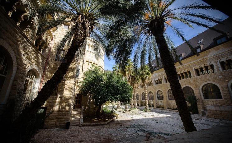 The LWF-run Augusta Victoria Hospital in East Jerusalem. Photo: LWF/M. Renaux
