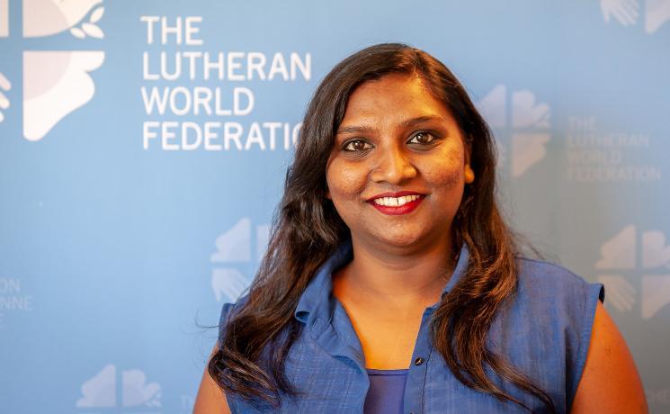 Ms Pranita Biswasi, LWF youth secretary. Photo: LWF/S. Gallay