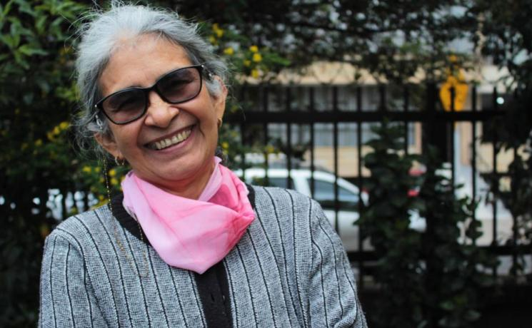 María Ruth Sanabria, Colombian human rights defender. Photo: LWF Colombia