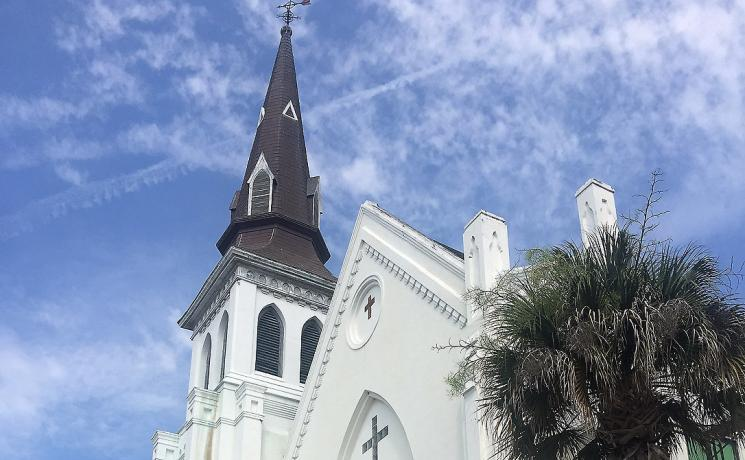 Emanuel AME Church, Charleston, South Carolina. Photo: jalexartis CC-NC-SA