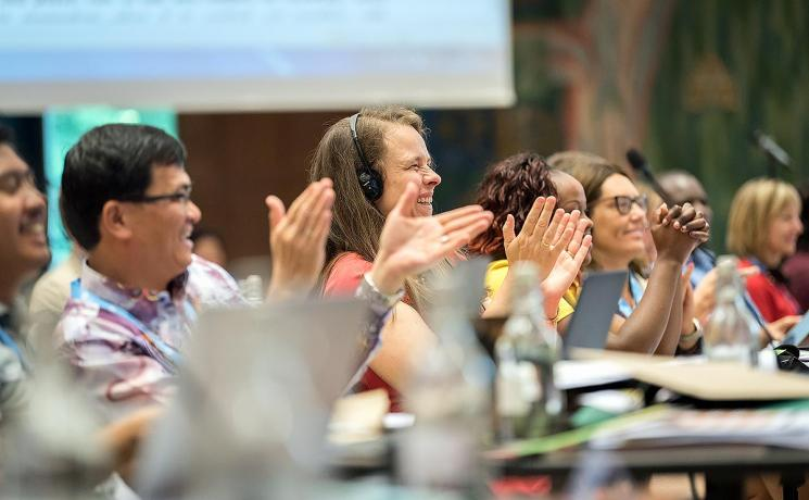 The LWF Council approves seven messages, resolutions and public statements on pressing issues. Photo: LWF/Albin Hillert