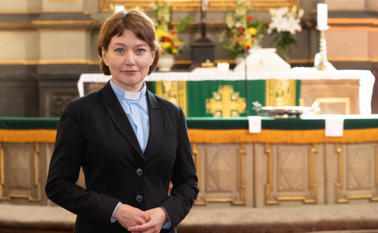 The Lutheran World Federation Council has elected Estonian theologian Rev. Anne Burghardt as the next General Secretary of the global communion of Lutheran churches. Photo: Erik Peinar