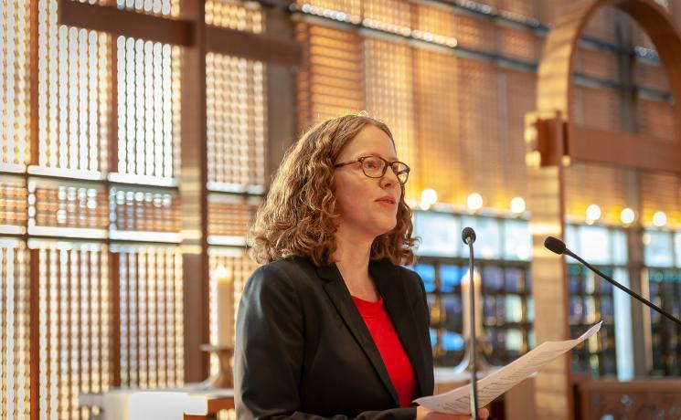 Rev. Dr Miriam Haar, LWF's Theological Assistant. Photo: LWF/S. Gallay