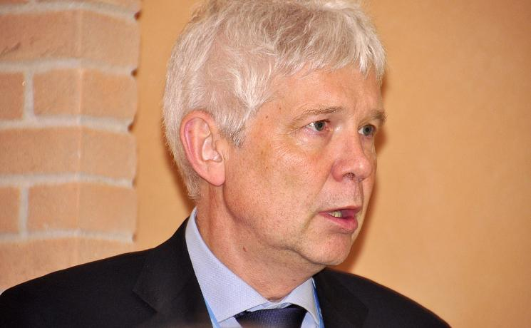 ELCI Dean Heiner A. Bludau speaks at the LWF European regions' conference. Photo: Gerhard Frey-Reininghaus